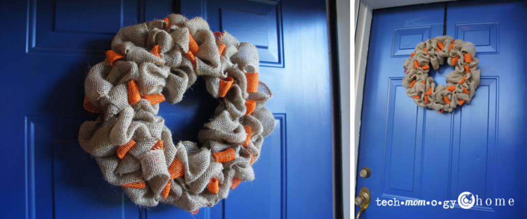 DIY Burlap Wreath How-To