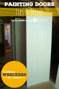 Painting Doors Tips & Tricks - Weekday Wreckers