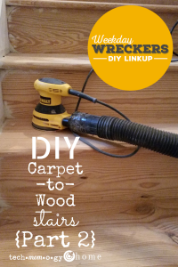DIY Carpet to Wood Stairs Part 2