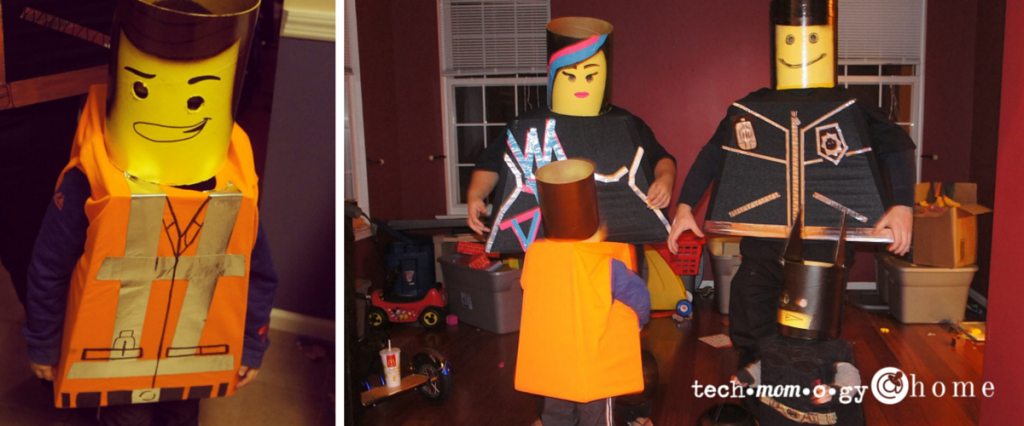 DIY The Lego Movie Halloween Costumes
