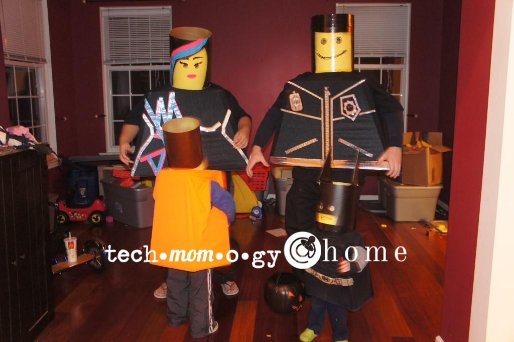 DIY The Lego Movie Costumes