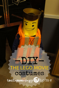 DIY The Lego Movie Costumes Pin