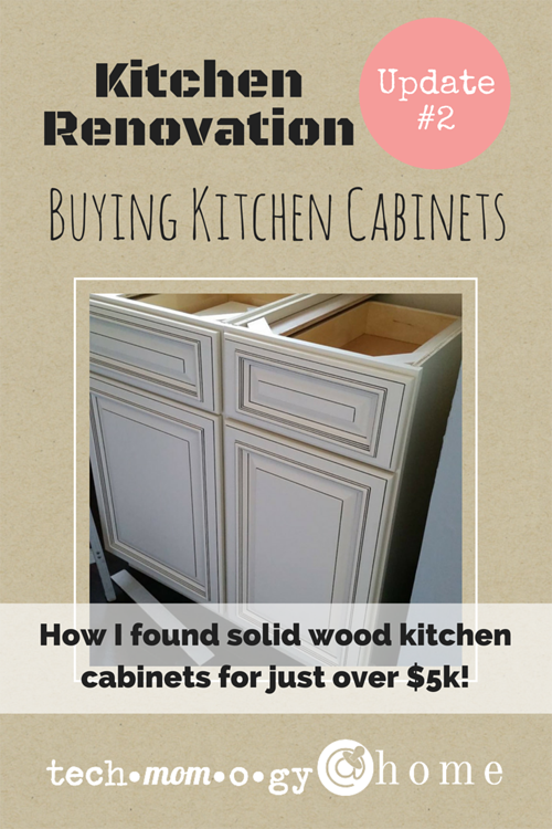 How I found solid wood kitchen cabinets for just over $5k! | Techmomogy @ Home