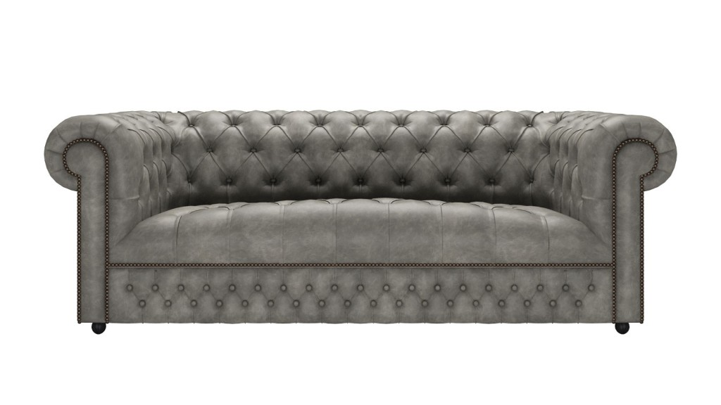 Stanhope_3seater_Etna_Grey_Sofas by Saxon